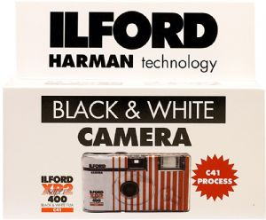 Ilford XP2 400 iso 27 exposure Disposable Single Use Film Camera